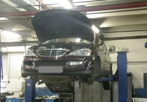 Ремонт подвески в автомобилях SsangYong