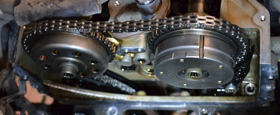 Замена цепи ГРМ на автомобиле SsangYong Актион