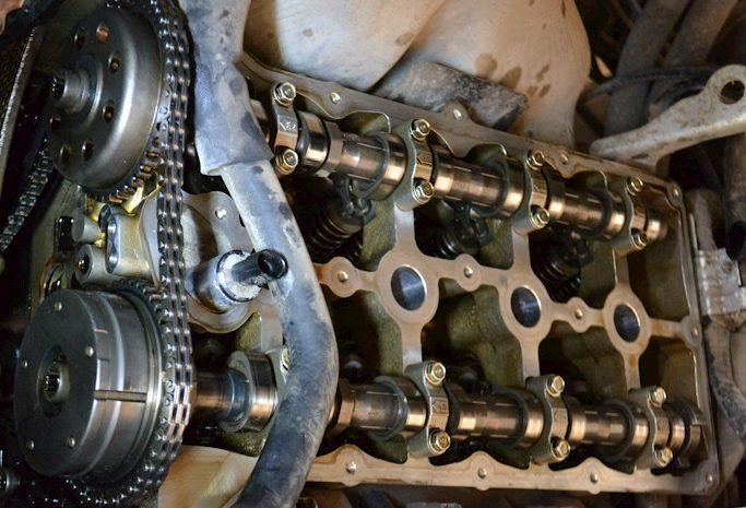 Ремонт мотора Санг Йонг
